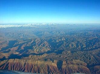 Garmsar - Aerial View East-Northeast of Garmsar
