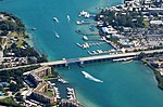 Aerial view of Carlin White Bridge on US 1 in Jupiter FL from west (2014).jpg