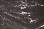Aerial view of Nagoya Castle, Japan, in August 1945.jpg
