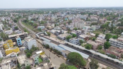 Aerial view of powerpet railway station.png