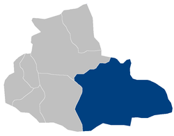 Location of Jawand District in Badghis Province