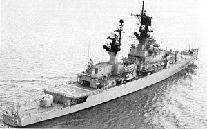 USS Belknap, lead ship of her class