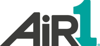 Air1 - Former logo used from 2013 to 2019.
