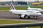 Air France, F-GPME, Airbus A319-113 (28476267255).jpg