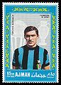 Ajman 1968-08-25 stamp - Tarcisio Burgnich.jpg