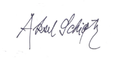 Aksel Schiøtz - signature, 1951.png