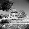 Al Haram esh-Sharif - Tempelberg. Rotskoepel of Qubbet es-Sakhra met poort die t, Bestanddeelnr 255-5440.jpg