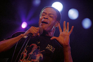 Al Jarreau - 1996: Jarreau performing at the Molde International Jazz Festival.
