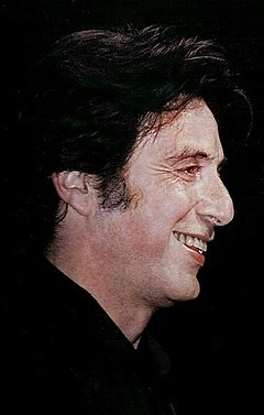 Al Pacino won once from five nominations for his performance in Scent of a Woman (1992). Al Pacino Cannes 1996.jpg