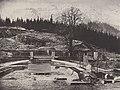 Albert, Joseph - Bayerische Königsschlösser, Schloss Linderhof – Baustelle der Terrassenanlage am Linderbichel (Zeno Fotografie).jpg