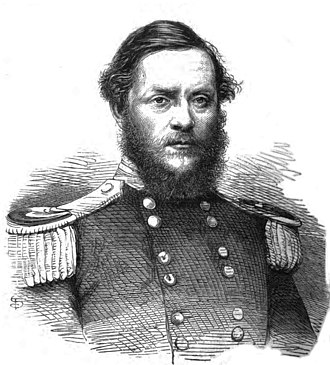 Albert Parker, 3rd Earl of Morley - 1866 engraving after a photograph