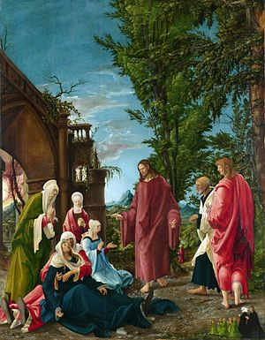 Albrecht Altdorfer - Christ taking Leave of his Mother
