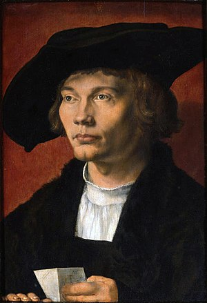 Bernard van Orley - Possible portrait of Bernard van Orley by Albrecht Dürer.
