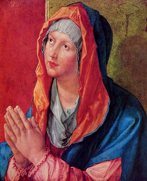 1518 in art - Dürer – Maria Praying, Gemäldegalerie, Berlin