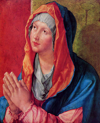 1518 in art - Dürer – Maria Praying, Gemäldegalerie, Berlin
