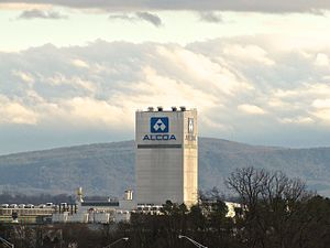 Alcoa, Tennessee - CCM tower at ALCOA's North Plant in Alcoa, Tennessee