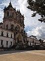 Alcobaça, Mosteiro de Alcobaça, Igreja abacial, fachada (2).jpg