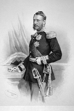 Alexandru Ioan Cuza - Alexandru Ioan Cuza, lithography by Josef Kriehuber, 1861