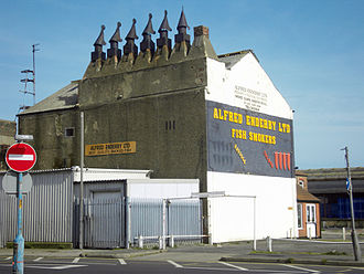 Traditional Grimsby smoked fish - Alfred Enderby Grimsby smokehouse