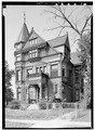 Alfred Uihlein House, 1639 North Fifth Street, Milwaukee, Milwaukee County, WI HABS WIS,40-MILWA,16-2.tif