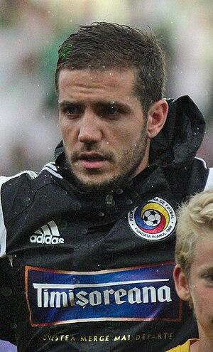 Alexandru Chipciu - Chipciu lining up for Romania in 2014.