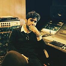 Alireza JJ in the studio in 2015.jpg