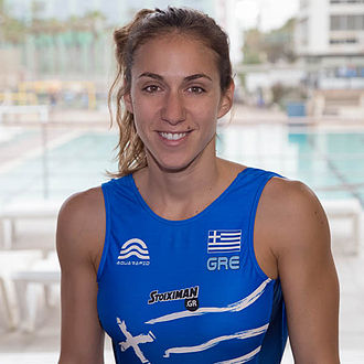 Greece women's national water polo team - Alkisti Avramidou, prominent member of the Greek team that was crowned World Champion in 2011