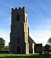 All Saints, Bodham, Norfolk - Tower - geograph.org.uk - 319759.jpg