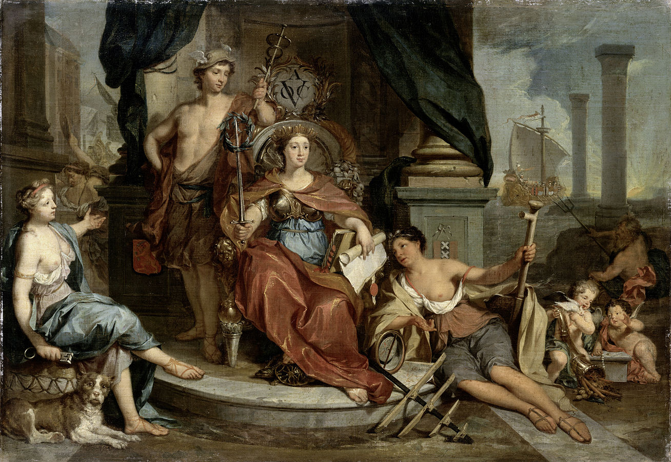 Apotheosis of the Dutch East India Company (Allegory of the Amsterdam Chamber of Commerce of the VOC)