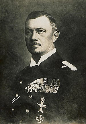 Battle of Jutland - Reinhard Scheer, German fleet commander