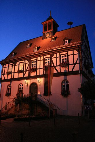 Bad Vilbel - Image: Altes Rathaus Bad Vilbel
