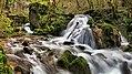 Amancey, cascade du moulin amont sur le ruisseau de Norvaux.jpg
