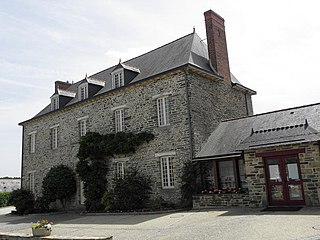 Amanlis Commune in Brittany, France