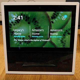 Amazon Echo Show Touchscreen smart speaker produced by Amazon