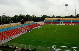 Sport in Delhi - Ambedkar stadium, only major football stadium in Delhi-NCR