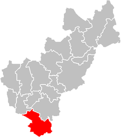 Location of the municipality in Querétaro