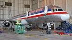 American Airlines B757-200 forward fuselage view in hangar.jpg