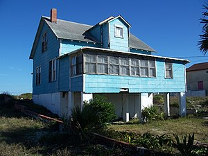 National Register of Historic Places listings in Nassau County, Florida - Image: American Beach FL Ervins Rest 01