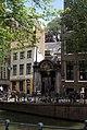 Amsterdam - Oudezijds Achterburgwal - View ENE towards Oudemanhuispoort.jpg