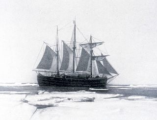 Norwegian polar exploration vessel