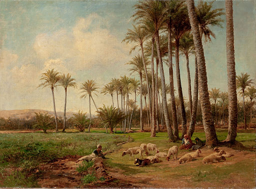 An Oasis in the Desert-David Bates-1899
