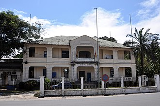 Old German government headquarters in Douala - Image: Ancien palais du Gouvernement 1