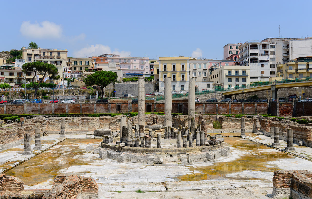Pozzuoli Italy  City pictures : ... Serapis temple Pozzuoli Campania Italy July 11th 2013 01