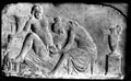 Ancient Roman relief carving of a midwife Wellcome M0003964EB.jpg