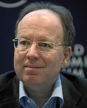 Andre Kudelski - World Economic Forum Annual Meeting Davos 2010.jpg