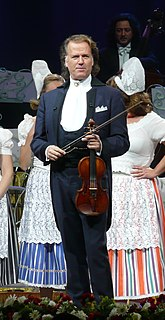 André Rieu Dutch violinist and conductor