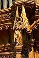 Angel on the Memorial Chapel in the Church of St John the Evangelist, Sidcup.jpg
