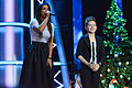 Ani Lorak and Andrey Boyko at Christmas Song of the Year 2014.jpg
