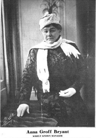 Anna Groff Bryant - Anna Groff Bryant, from a 1917 publication