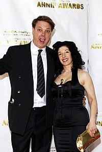 Annie Awards Bill plimpton wife.jpg